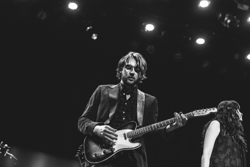 With Caitlin Rose at The Ryman Auditorium - Photo by The Nashville Scene