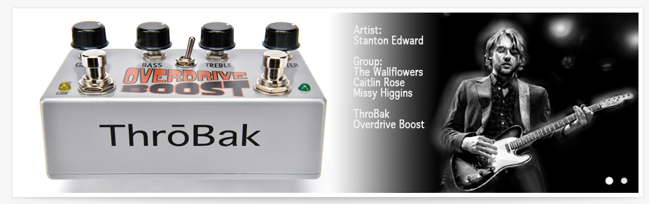 Throbak Electronics - Overdrive Boost